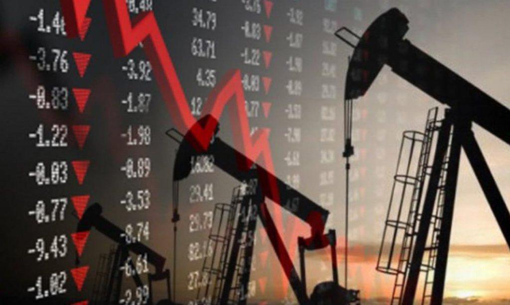 Курс нефти: фьючерсы на WTI+ Brent